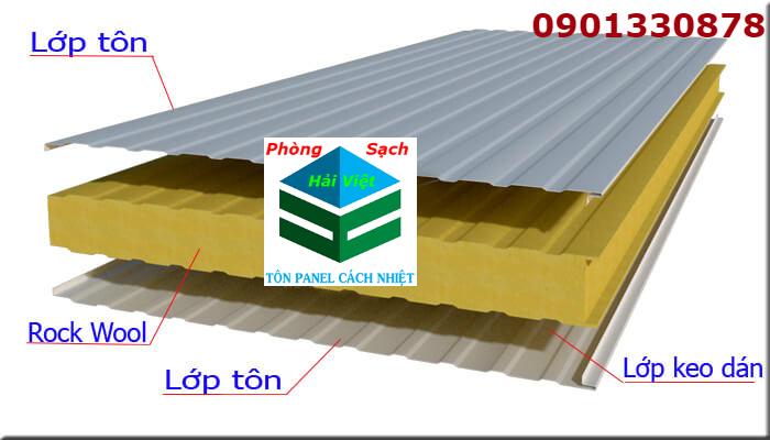 cấu tạo cách ngăn cách nhiệt panel cách âm cách nhiệt bông thủy tinh hải việt